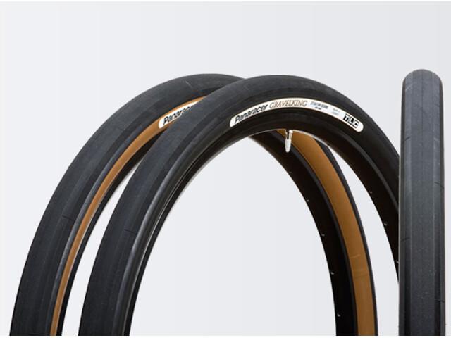 Panaracer Gravelking Folding Tyre TLC 700x38C black/brown